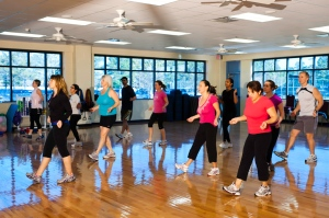 Get your groove on during Zumba!