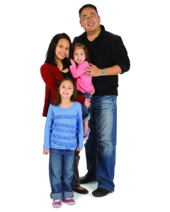 A YMCA family