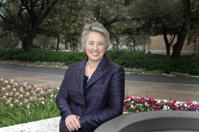Annise outside